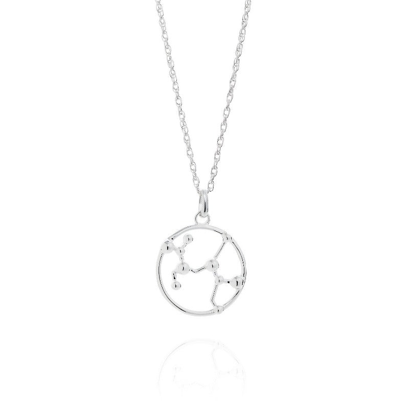 Sagittarius Astrology Silver Necklace by Yasmin Everley