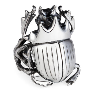 Scarab Beetle Ring - Joy Everley Fine Jewellers, London