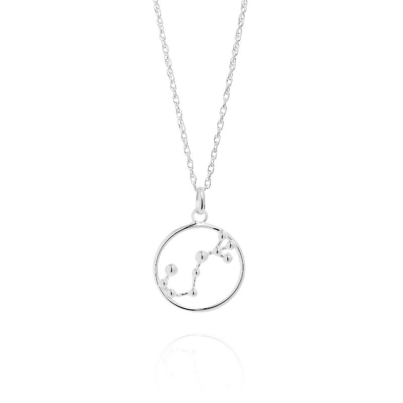 Scorpio Astrology Silver Necklace by Yasmin Everley