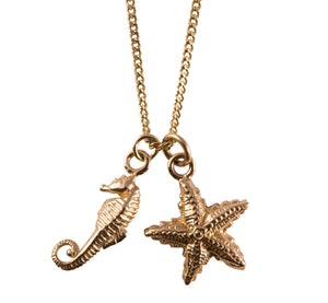 Gold Seaside Necklace - Joy Everley Fine Jewellers, London