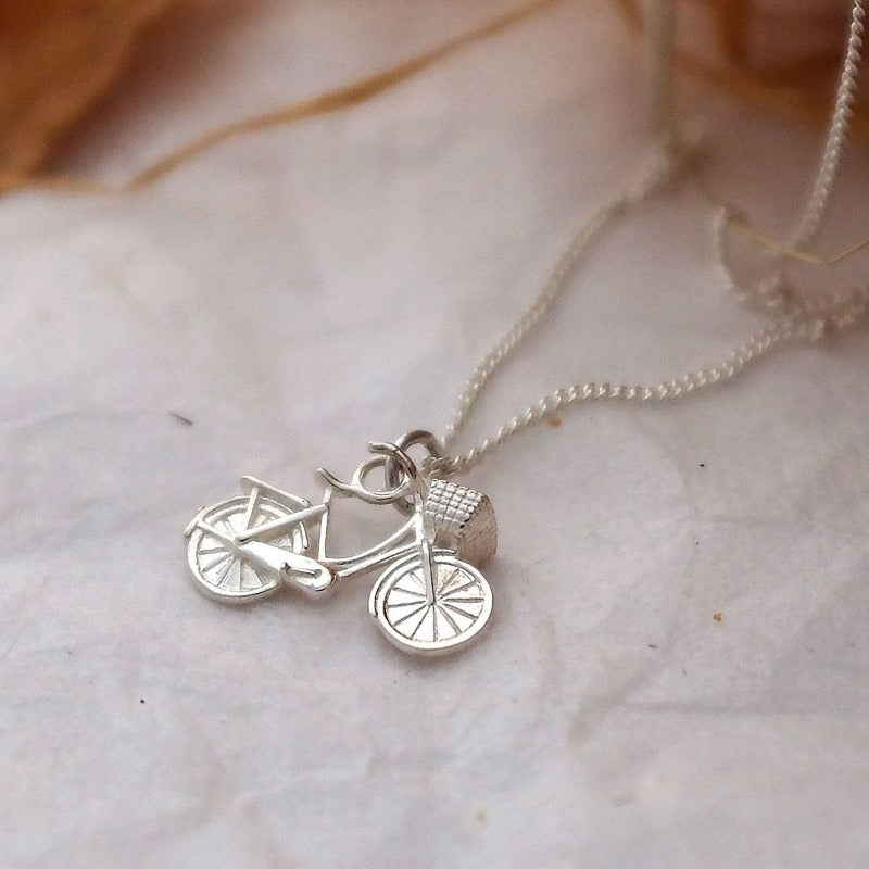 Bicycle Necklace