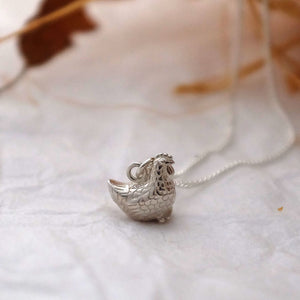 Chicken Necklace - Joy Everley Fine Jewellers, London