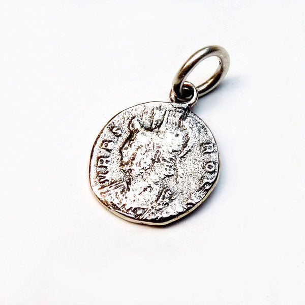 Roman Coin Charm - Joy Everley Fine Jewellers, London