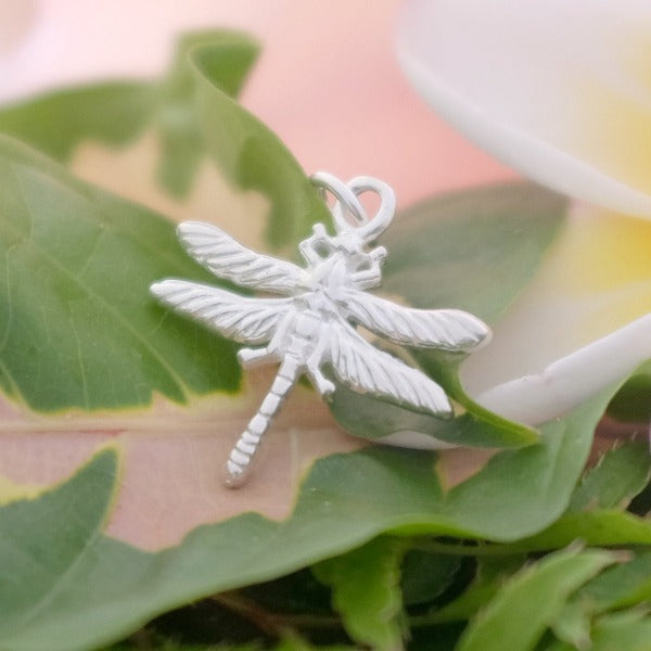 Tiny Dragonfly Charm - Joy Everley Fine Jewellers, London