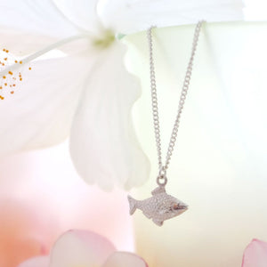 Goldfish Necklace - Joy Everley Fine Jewellers, London