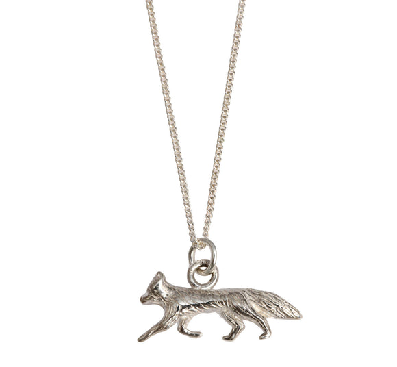 Silver Fox Necklace - Joy Everley Fine Jewellers, London