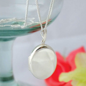 Large Oval Locket Necklace - Joy Everley Fine Jewellers, London