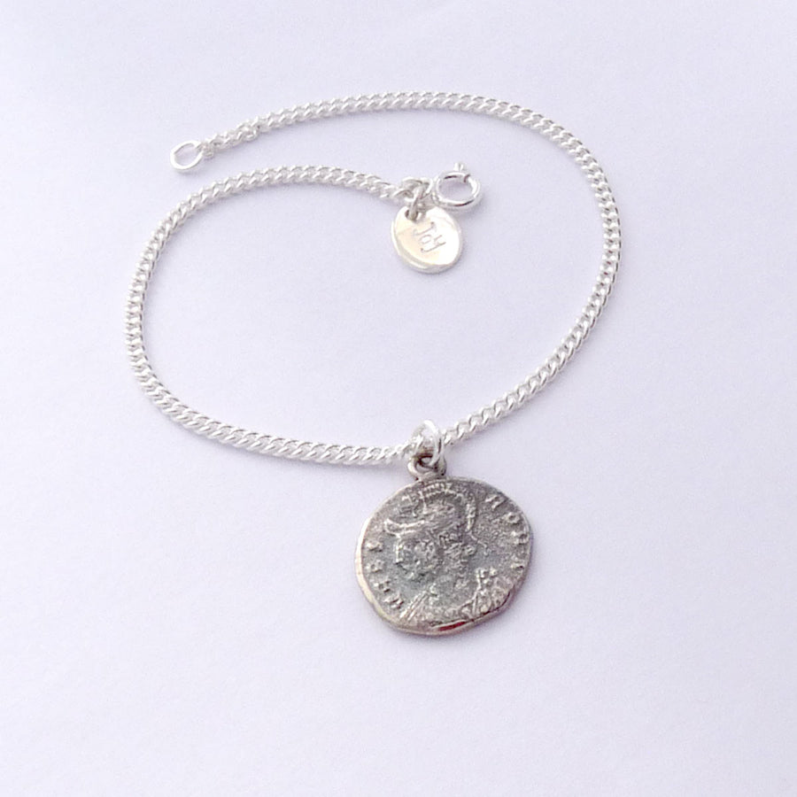 Roman Coin Bracelet - Joy Everley Fine Jewellers, London
