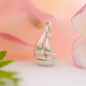 Sailing Boat Charm - Joy Everley Fine Jewellers, London