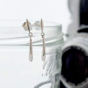Telstar Drop Ear Studs - Joy Everley Fine Jewellers, London