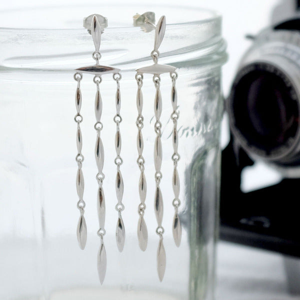 Telstar Chandelier Earrings - Joy Everley Fine Jewellers, London