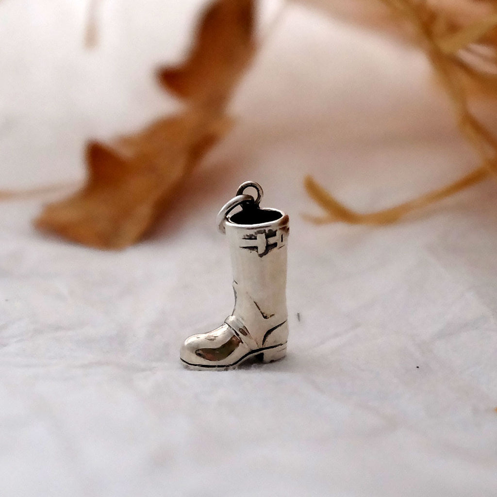 Wellington Boot Charm - Joy Everley Fine Jewellers, London