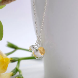 Golden Apple Necklace - Joy Everley Fine Jewellers, London