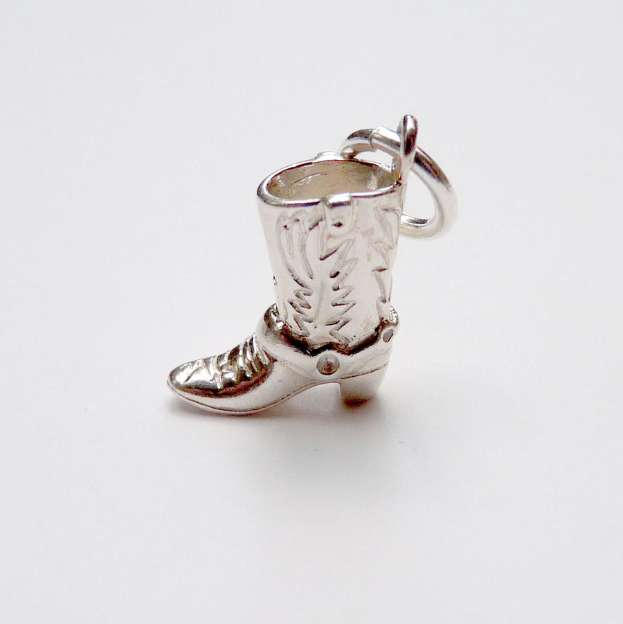 Cowboy Boot Charm - Joy Everley Fine Jewellers, London