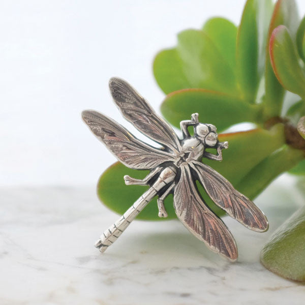 Large Dragonfly Brooch - Joy Everley Fine Jewellers, London