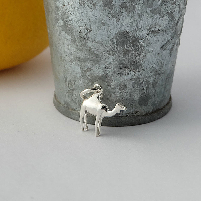 Silver Dromedary Camel Charm by Joy Everley