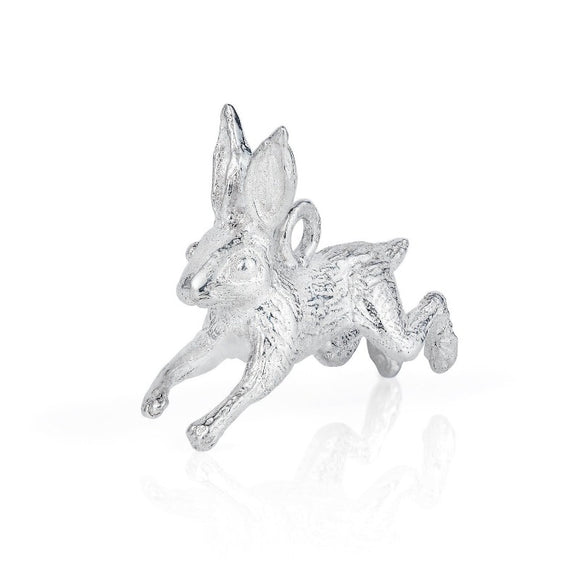 Leaping Hare Charm - Joy Everley Fine Jewellers, London
