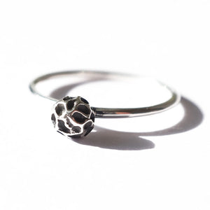 Silver Peppercorn Ring by Joy Everley