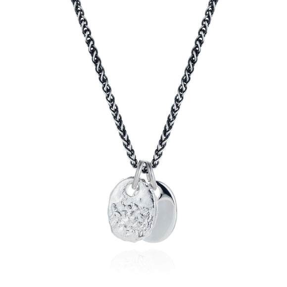 Two Pebble Necklace - Joy Everley Fine Jewellers, London