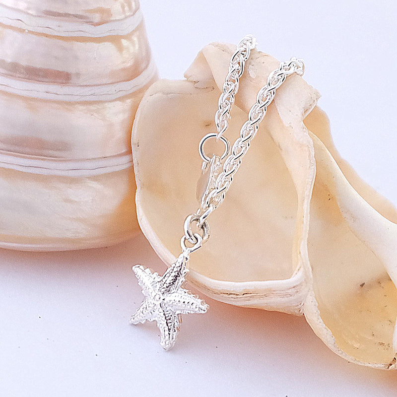 Silver Starfish Charm by Joy Everley