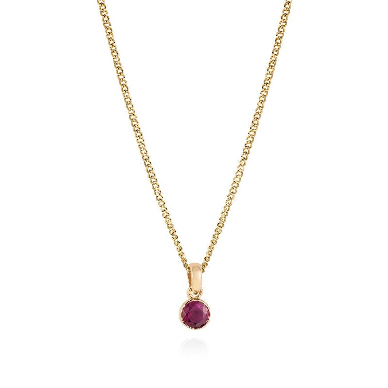 listing birthstone il tiny necklace fullxfull ruby beaded gemstone july natural gold