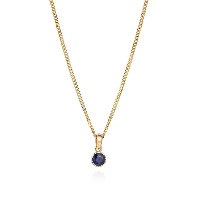 Simple Sapphire Necklace - Joy Everley Fine Jewellers, London