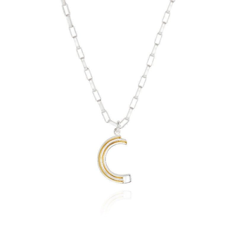 Saxony C Initial Necklace - Joy Everley Fine Jewellers, London