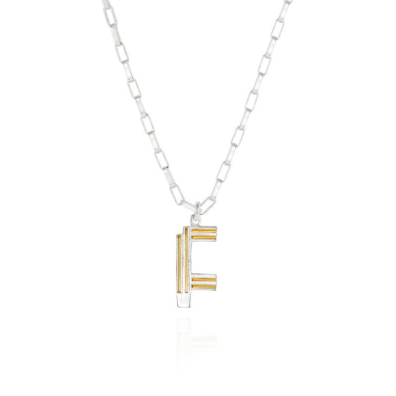 Saxony F Initial Necklace - Joy Everley Fine Jewellers, London