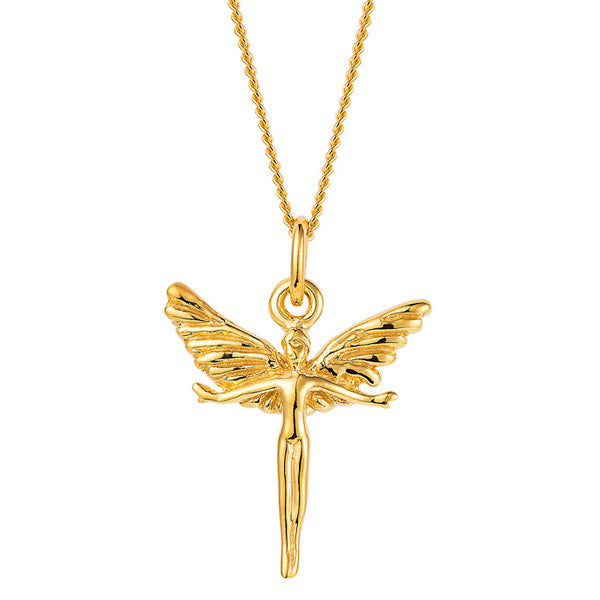 Joy Everley Silver Focus Fairy Necklace