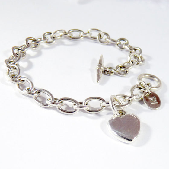 Smooth Heart Bracelet