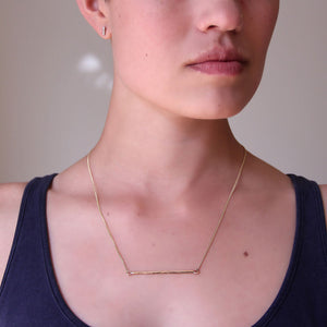 Gold Birch Necklace - Joy Everley Fine Jewellers, London