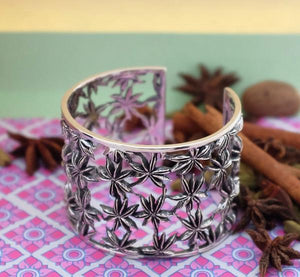 Wide Star Anise Cuff