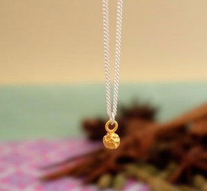 Silver or Gold Peppercorn Necklace by Joy Everley