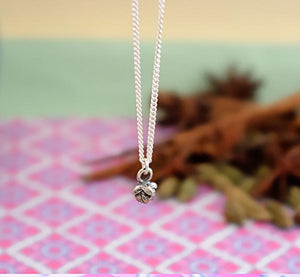 Silver Clove Necklace by Joy Everley