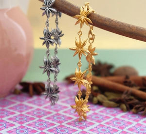 Star Anise Silver or Gold Bracelet by Joy Everley