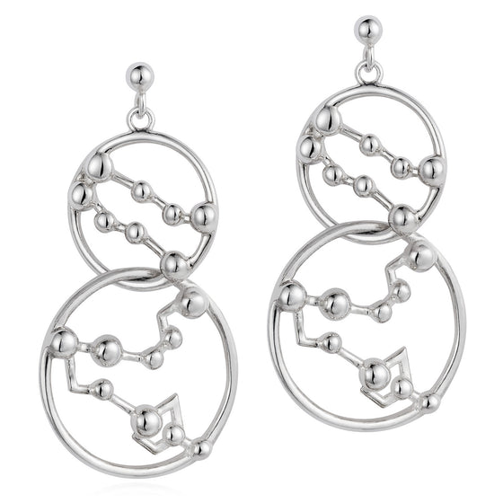 Star Crossed Lovers Earrings - Joy Everley Fine Jewellers, London