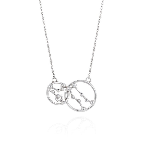 Star Crossed Lovers Necklace - Joy Everley Fine Jewellers, London