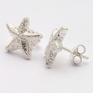 Starfish Ear Studs - Joy Everley Fine Jewellers, London