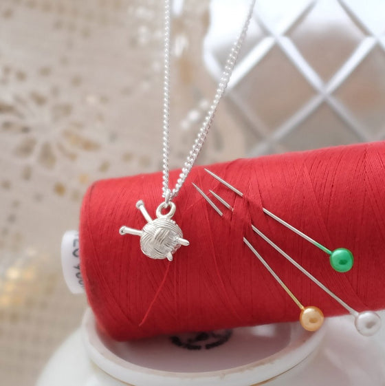 Knitting Necklace - Joy Everley Fine Jewellers, London