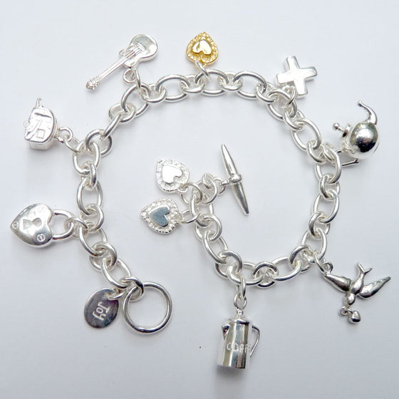Love Story Bracelet - Joy Everley Fine Jewellers, London