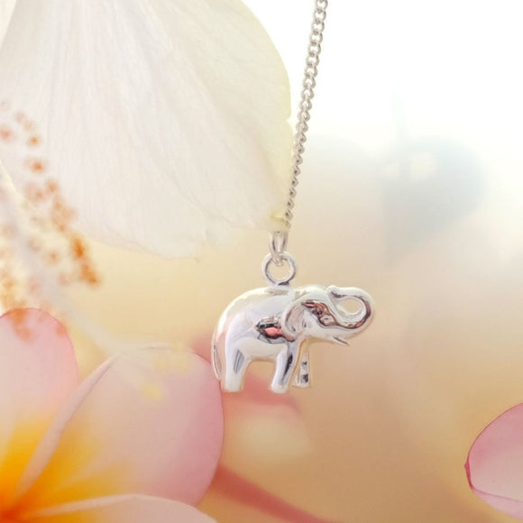 Lucky Elephant Necklace - Joy Everley Fine Jewellers, London