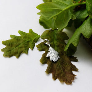 Oak Leaf Charm - Joy Everley Fine Jewellers, London
