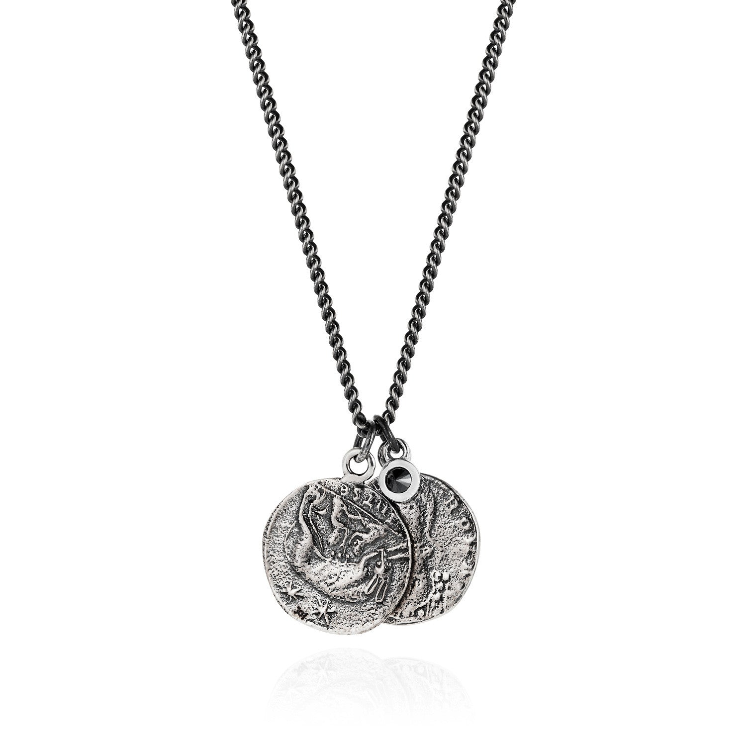rider coins coin medallion roman necklace