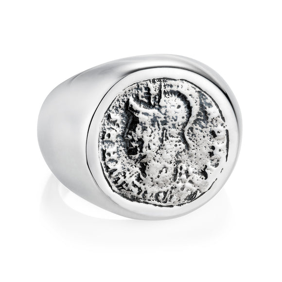 Roman Coin Ring - Joy Everley Fine Jewellers, London