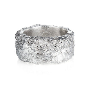 Wide Rough Ring - Joy Everley Fine Jewellers, London