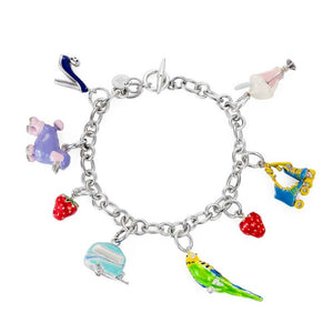 Suburban Charm Bracelet - Joy Everley Fine Jewellers, London