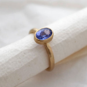 Tanzanite Cocktail Ring - Joy Everley Fine Jewellers, London