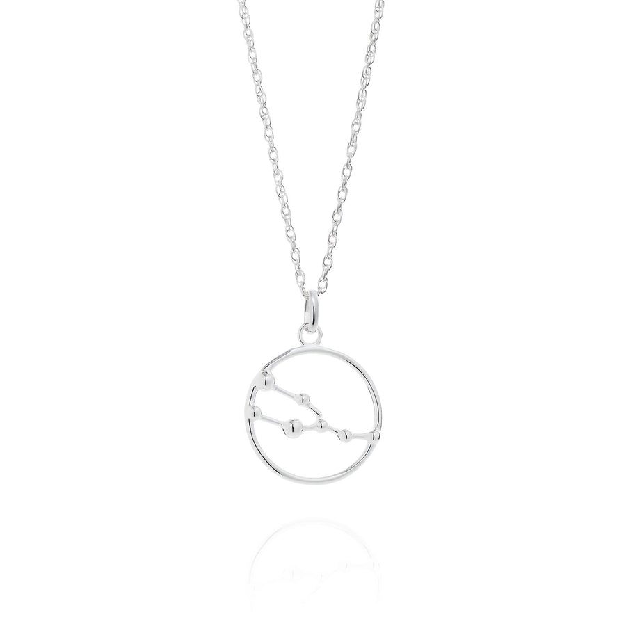 Taurus Astrology Silver Necklace by Yasmin Everley
