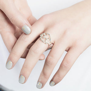 Leo Astrology Silver Ring by Yasmin Everley