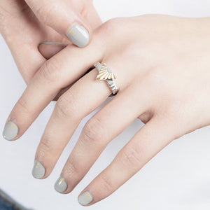 Ray A Silver Ring by Yasmin Everley